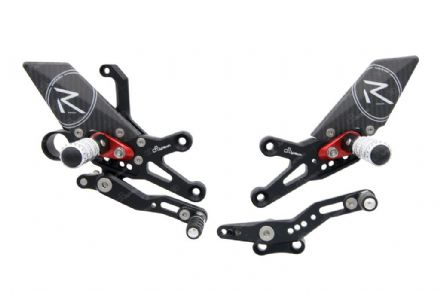 LighTech Honda CBR1000RR + ABS 08-16 'R' Version Adjustable Rearsets